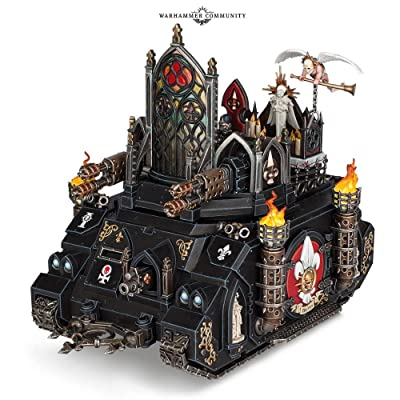 Games Workshop Warhammer 40,000: Adepta Sororitas Immolator: Toys & Games
