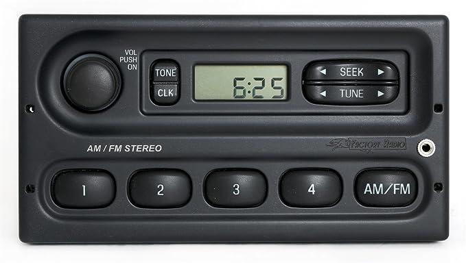 Amazon 19982007 Ford Ranger Am Fm 4 Speaker Radio W Aux Input Rhamazon: 2004 Ford Ranger Radio With Aux At Gmaili.net