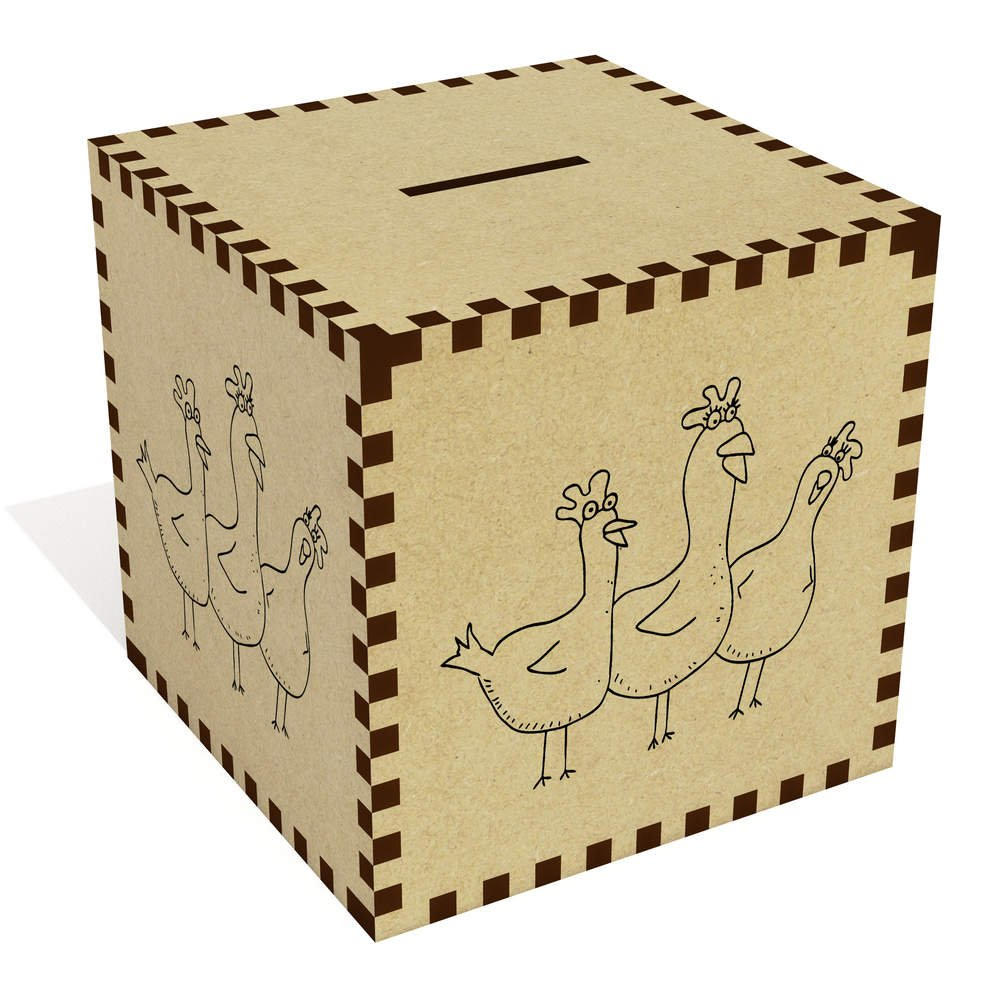 Azeeda Large 'Chickens' Money Box / Piggy Bank (MB00009881)