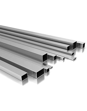 Riggatec Tube daluminium Carr/é 60x60x3mm Longueur 2,5 m