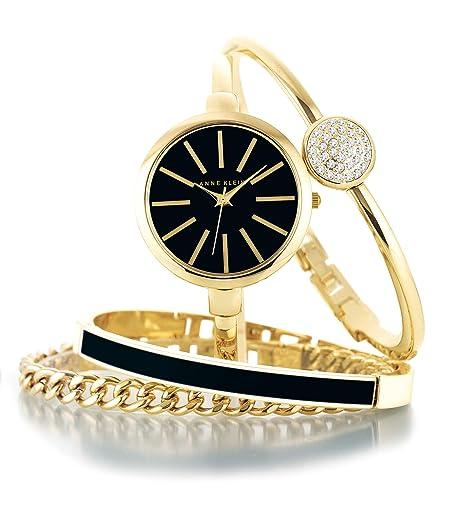 Women's Bangle Watch and Swarovski Crystal Bracelet Set