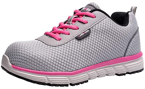 Amazon.com: Zapatos de seguridad para mujer L-8038 SRC ...