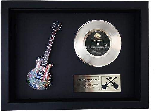 rgm1385 Slash Guns N Roses – Appetite para destrucción oro disco ...