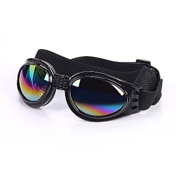 f3cea9103d Cestlafit Gafas De Sol Para Perros De Mascotas, Gafas De Sol Para Perros,  Lentes Para Perros Para Perros Grandes, Negro: Amazon.es: Hogar