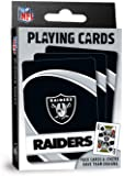 "MasterPieces NFL Raiders Playing Cards,Black,4"" X 0.75"" X 2.625"""