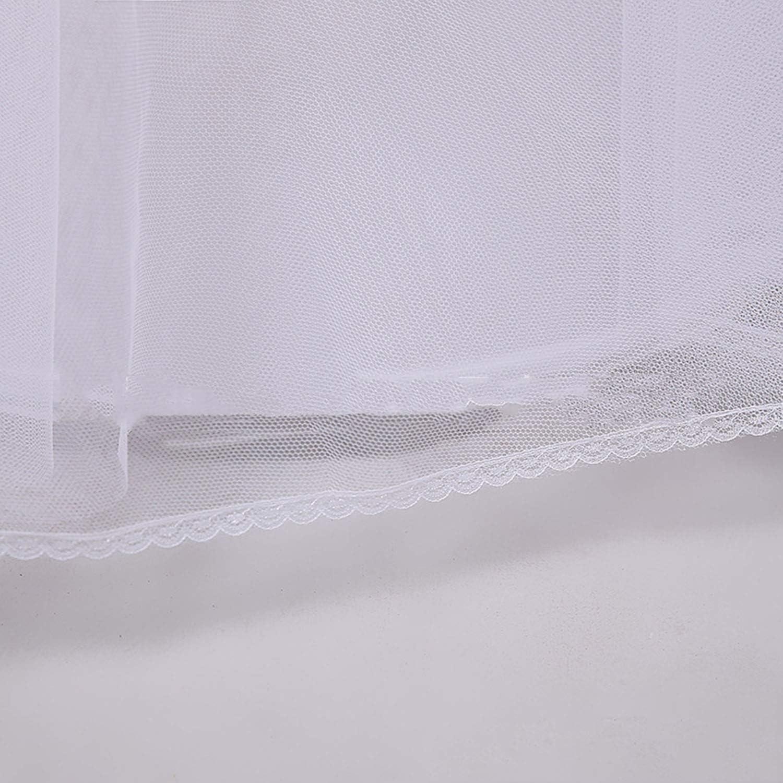 marrydressy Women Underskirt Petticoat for Dresses Bridal Crinoline Underskirt Slips for Wedding Single Loop White