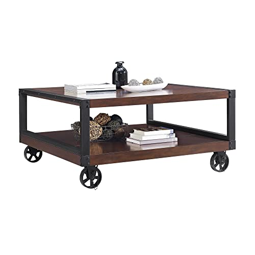 Novogratz Southampton Wood Veneer Coffee Table, Espresso
