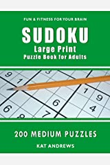 Sudoku Large Print Puzzle Book for Adults: 200 Medium Puzzles (Puzzle Books Plus) Paperback