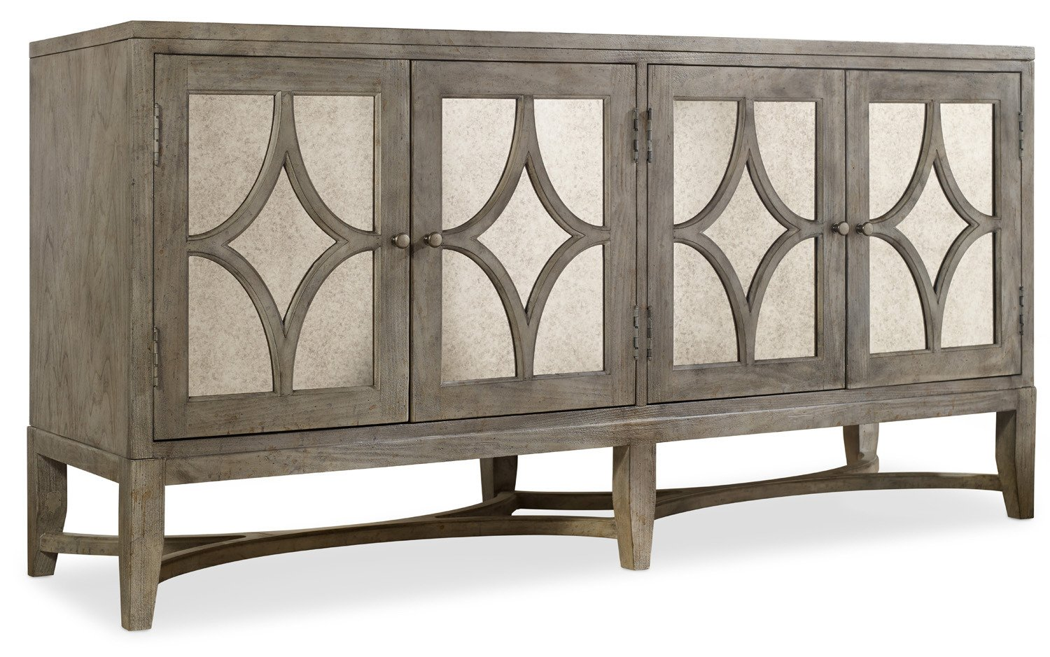 Amazon hooker furniture melange 4 door diamante console in amazon hooker furniture melange 4 door diamante console in weathered gray kitchen dining geotapseo Choice Image