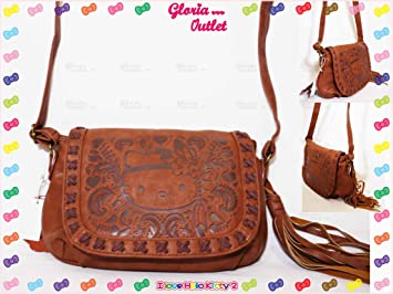 c2a983593dee Image Unavailable. Image not available for. Color  Loungefly Hello Kitty  Boho Embossed Cross Body ...