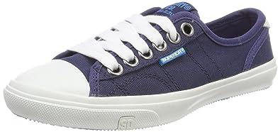 Superdry Damen Low Pro Sneaker Slip on, Blau (Navy 11S), 41 EU