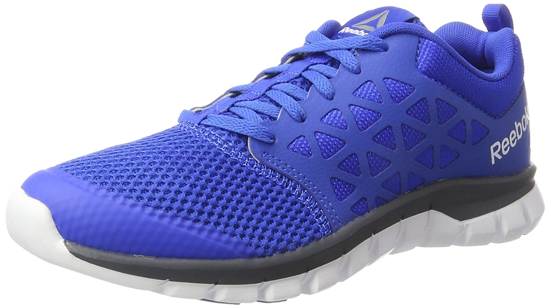 Reebok Sublite XT Cushion 2.0 MT, Zapatillas de Running para Hombre 42 EU|Varios Colores (Vital Blue / Smoky Indigo / White / Pewter)