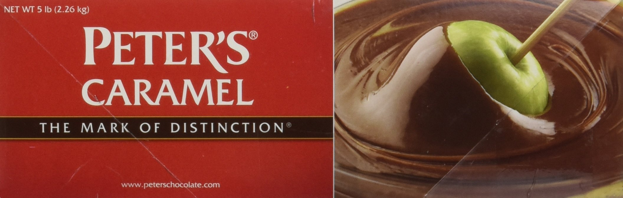 Peters Creamy Caramel Sauce, 5 Pound by Peters Chocolate (Image #1)