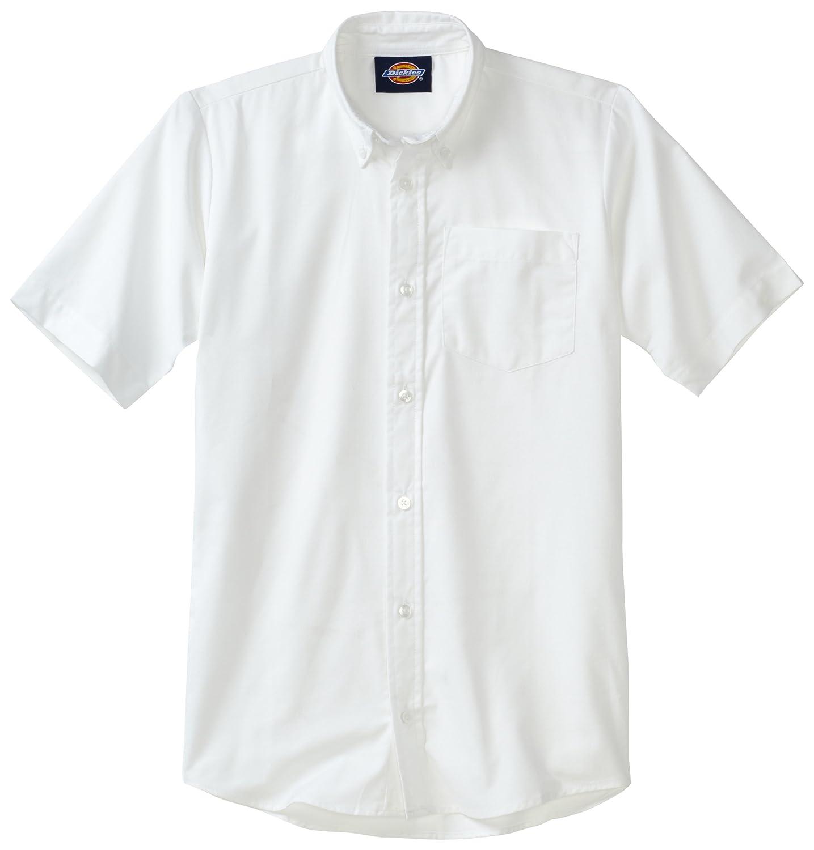 Dickies KS920 Boys LS Oxford Shirt-WHITE-X-Small 607645223599-MNWW