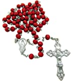 7mm Rose Scented Wood Rosary