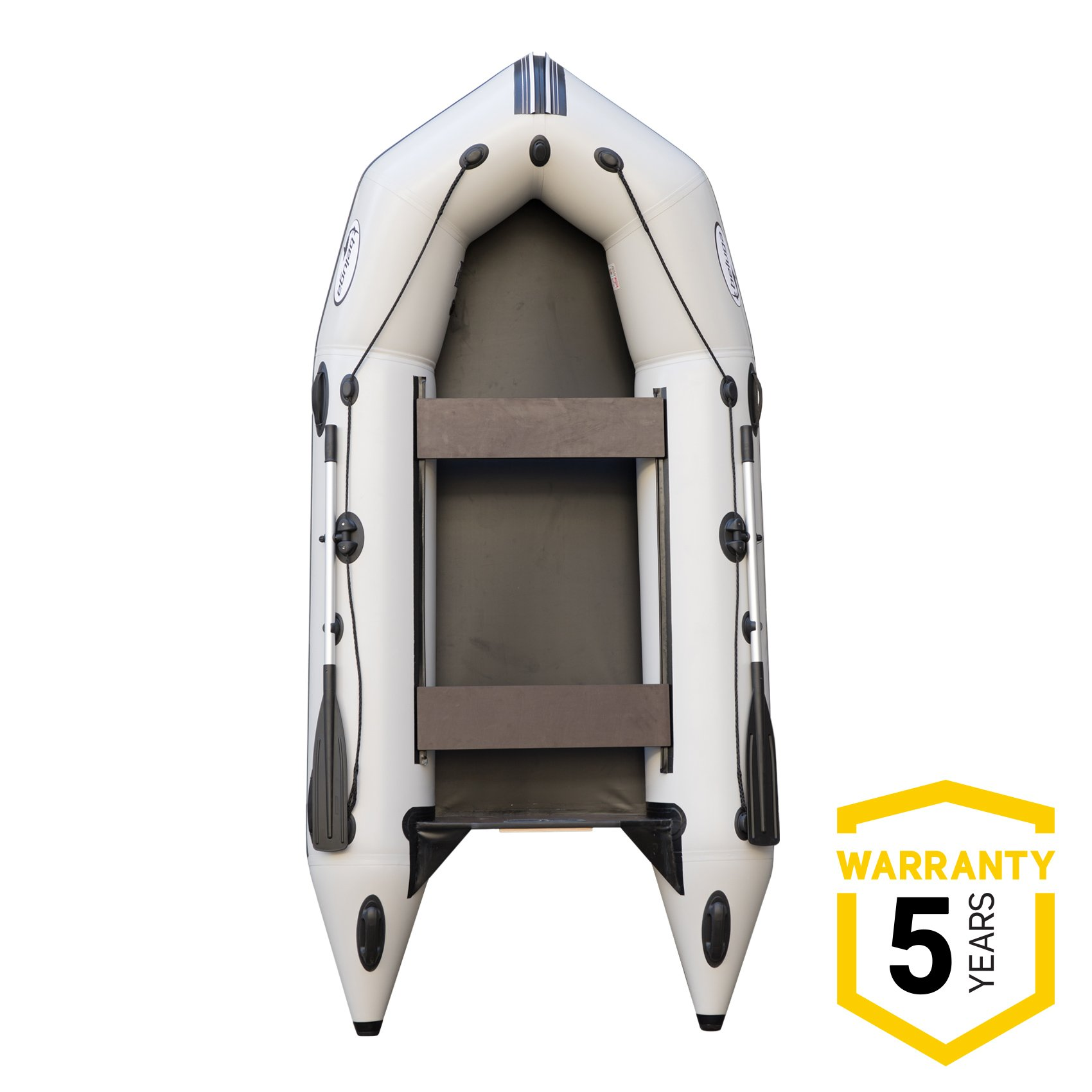 Beluga 11 FT. Light Gray Inflatable Boat