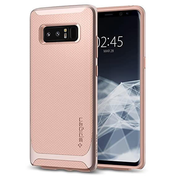 best loved 28a8f 2fd32 Spigen Neo Hybrid Designed for Samsung Galaxy Note 8 Case (2017) - Pale  Dogwood