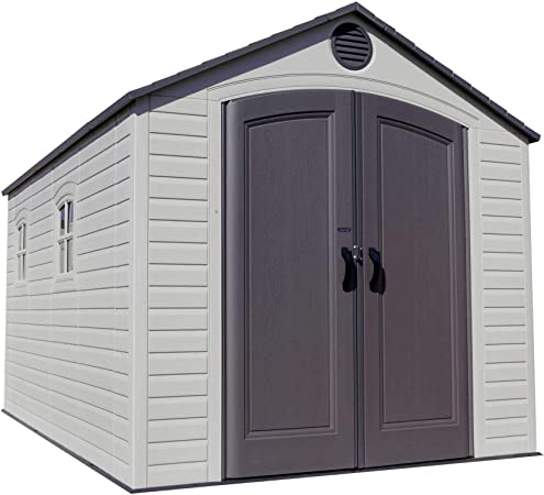 LIFETIME 6402 Outdoor Storage Shed – Best Resin Storage Shed