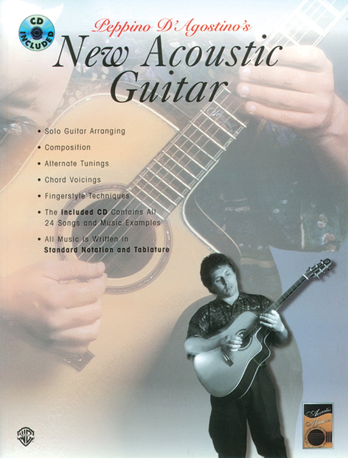 Buy Peppino Dagostinos New Acoustic Guitar Acoustic Masters
