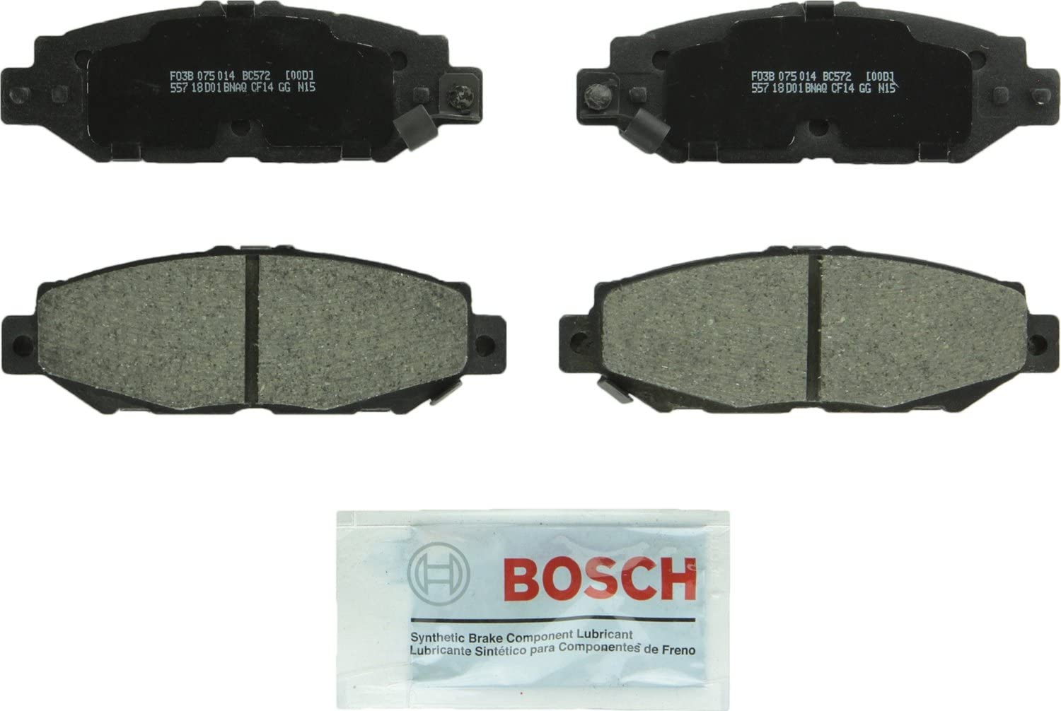 Front and Rear Ceramic Disc Brake Pads Set For LEXUS SC300 1992 1993 1994 1995