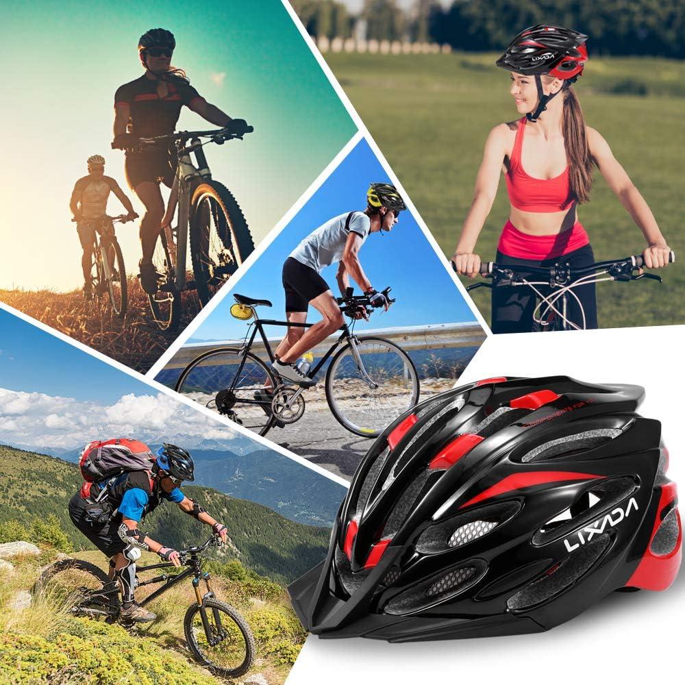 Lixada Cycling Helmet Outdoor Sport MTB Road Bike Bicycle Safety Hat Ultralight