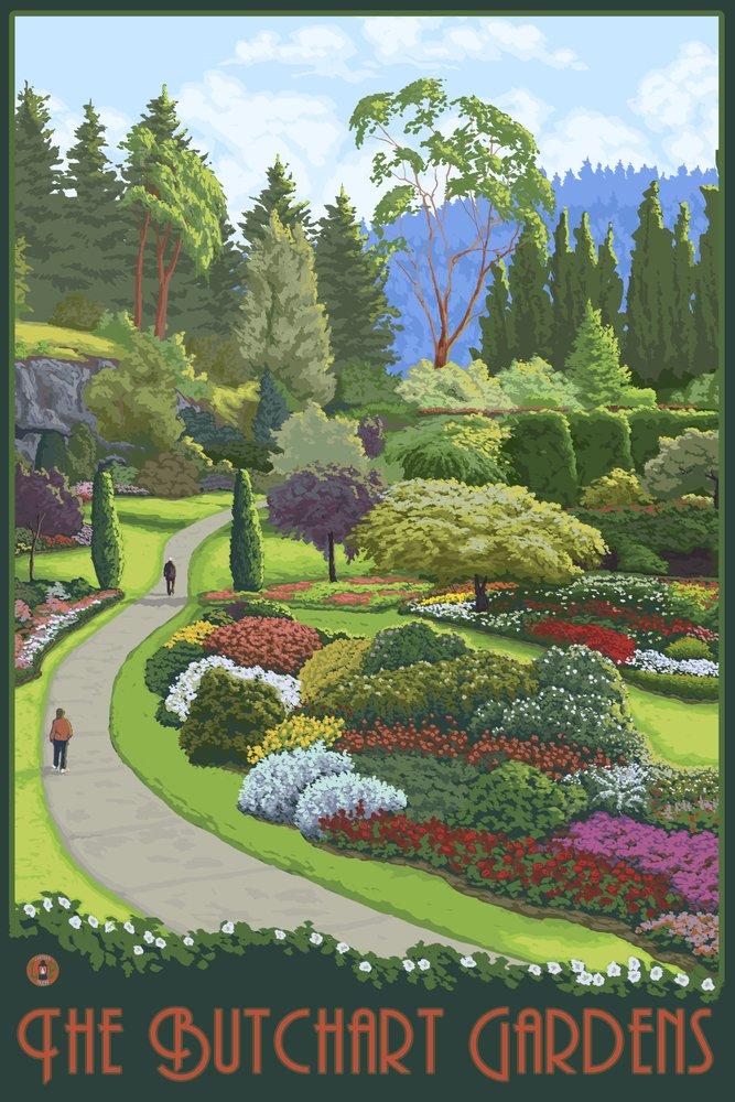 人気ブランドを Brentwoodベイ、カナダ – Butchart Gardens 9 x x 12 Art 9 8oz Print LANT-15855-9x12 B074S2WNFP 8oz Coffee Bag 8oz Coffee Bag, 手づくり和菓子翁屋:f729388a --- mail.consumer1st.in