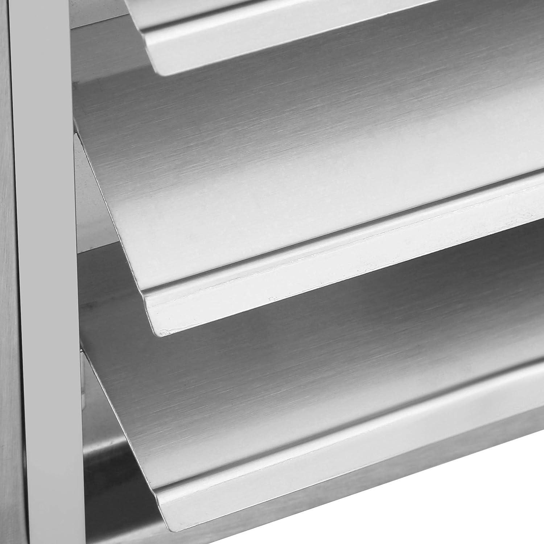 Canyita Rejillas de ventilación cuadradas, ventilación de Boca de Tubo Exterior de Acero Inoxidable 304 de 100 mm de Lado, Adecuado para instalación en hogares, fábricas, supermercados, etc.: Amazon.es: Hogar