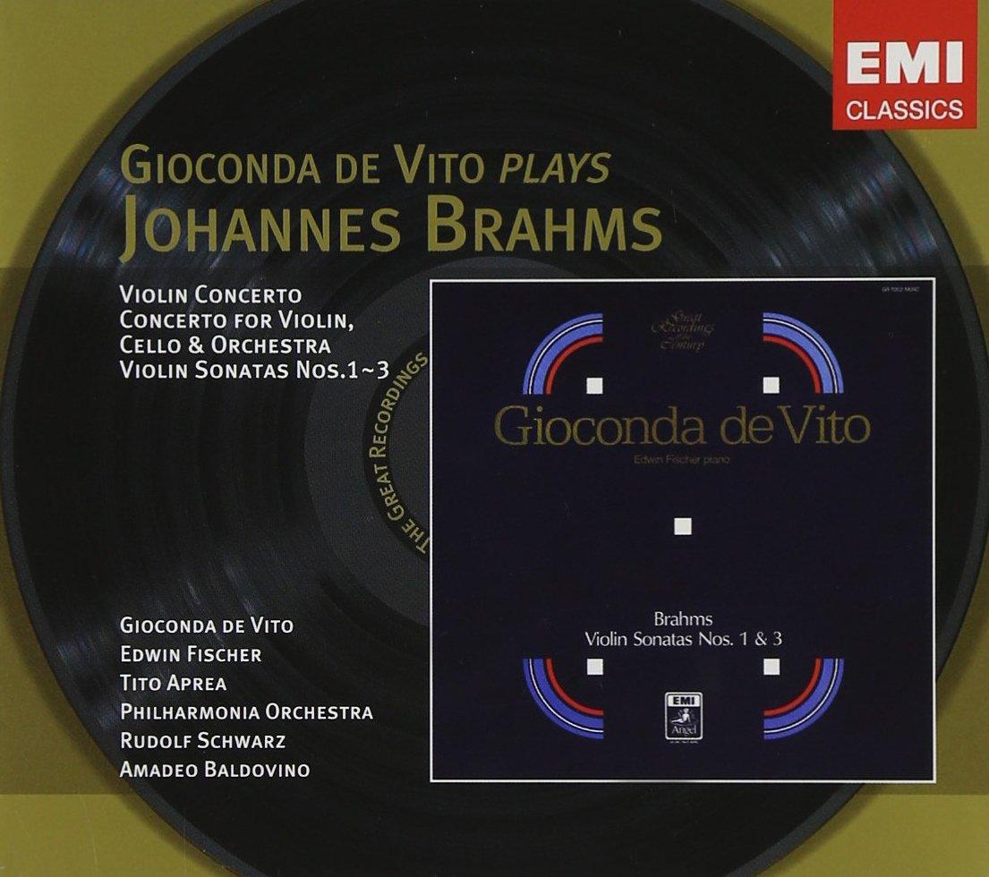 ブラームス:ヴァイオリン協奏曲、ソナタ集(韓国盤)                                                                                                                                                                                                                                                    <span class=