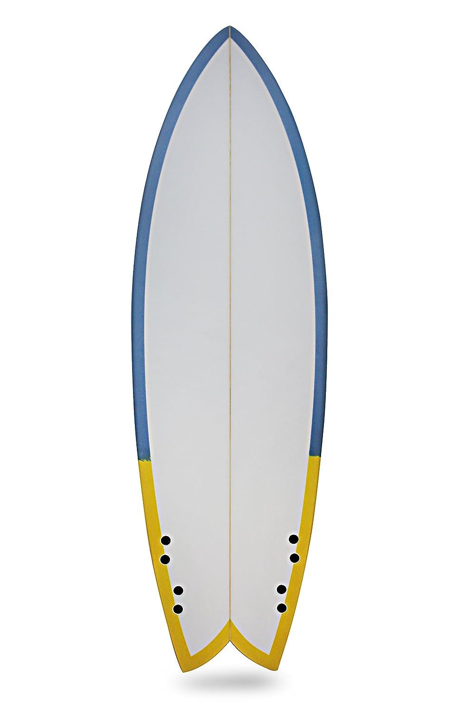 El Dory Tabla de surf, diseño de bambú, 5 5 - 6 5: Amazon.es: Deportes y aire libre