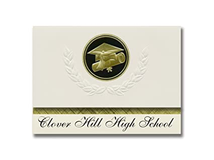 Amazon com : Signature Announcements Clover Hill High School
