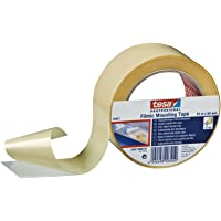tesa Strong Filmic Double Sided Mounting Adhesive Tape, Clear 50mm x 25m