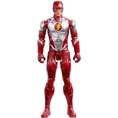 "DC Justice League Flash Armor Action Figure, 12"": Toys & Games"