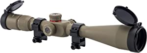 Monstrum G2 6-24x50 First Focal Plane FFP Rifle Scope with Illuminated Rangefinder Reticle and Parallax Adjustment