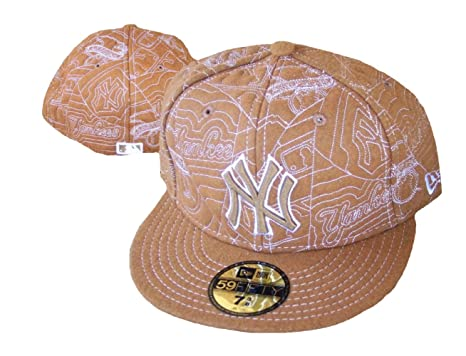 7fb776b47fdfb Image Unavailable. Image not available for. Color  New York Yankees New Era Fitted  Size 7 3 8 ...