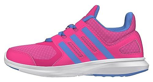 adidas Hyperfast 2.0 K, Chaussures de Running Compétition Mixte Enfant, Rose -Pink ( 092ad2f33c2d