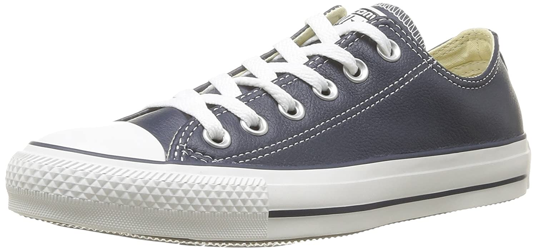 bleu (bleu)) Converse Chuck Taylor All Star Core Lea Ox, paniers mode mixte adulte