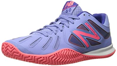 New Balance Women's 60v1 Minimus Tennis Shoe Blue/Guava 6.5 B(M) US
