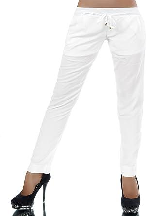 Diva Jeans L341 Damen Hose Stoffhose Sommerhose Freizeithose