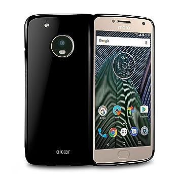 07437fb4f56 Olixar FlexiShield Motorola Moto G5 Plus Gel Case (Black)  Amazon.co.uk   Electronics