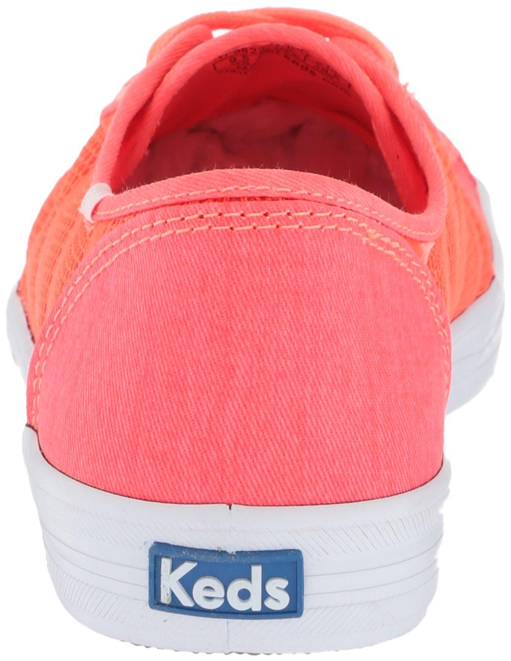Keds Women's B072YCK9F2 Kickstart Striped Mesh Sneaker B072YCK9F2 Women's 6.5 B(M) US|Coral 8a334b