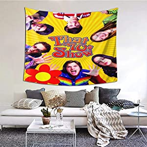 MCUEZ Home Decor That 70s Show Tapestry Wall Poster Painting Fans Gift for Living Room Bedroom Decoration 60X40in