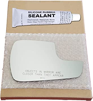 250 Driver S Mirror Glass Replacement Silicone Adhesive For 15-18 Transit-150