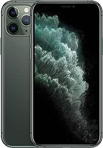 ابل ايفون 11 برو مع تطبيق فيس تايم - 64 جيجا، 4 جيجا رام، الجيل الرابع ال تي اي، اخضر داكن، شريحة واحدة و شريحة الاتصال الإلكتروني