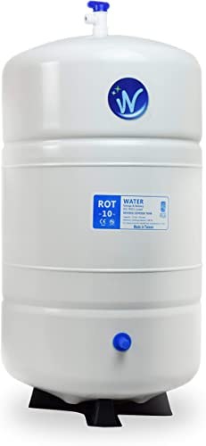 Pressurized RO Water Storage Tank – Total Capacity 10 Gal appx. 6 Gal Usable Capacity ROT-10-W