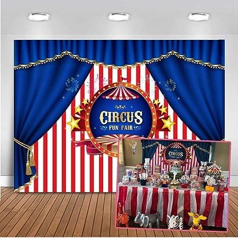 Mehofoto Circo Foto Del Contesto 7x5ft Sfondo Fotografia Decorazioni