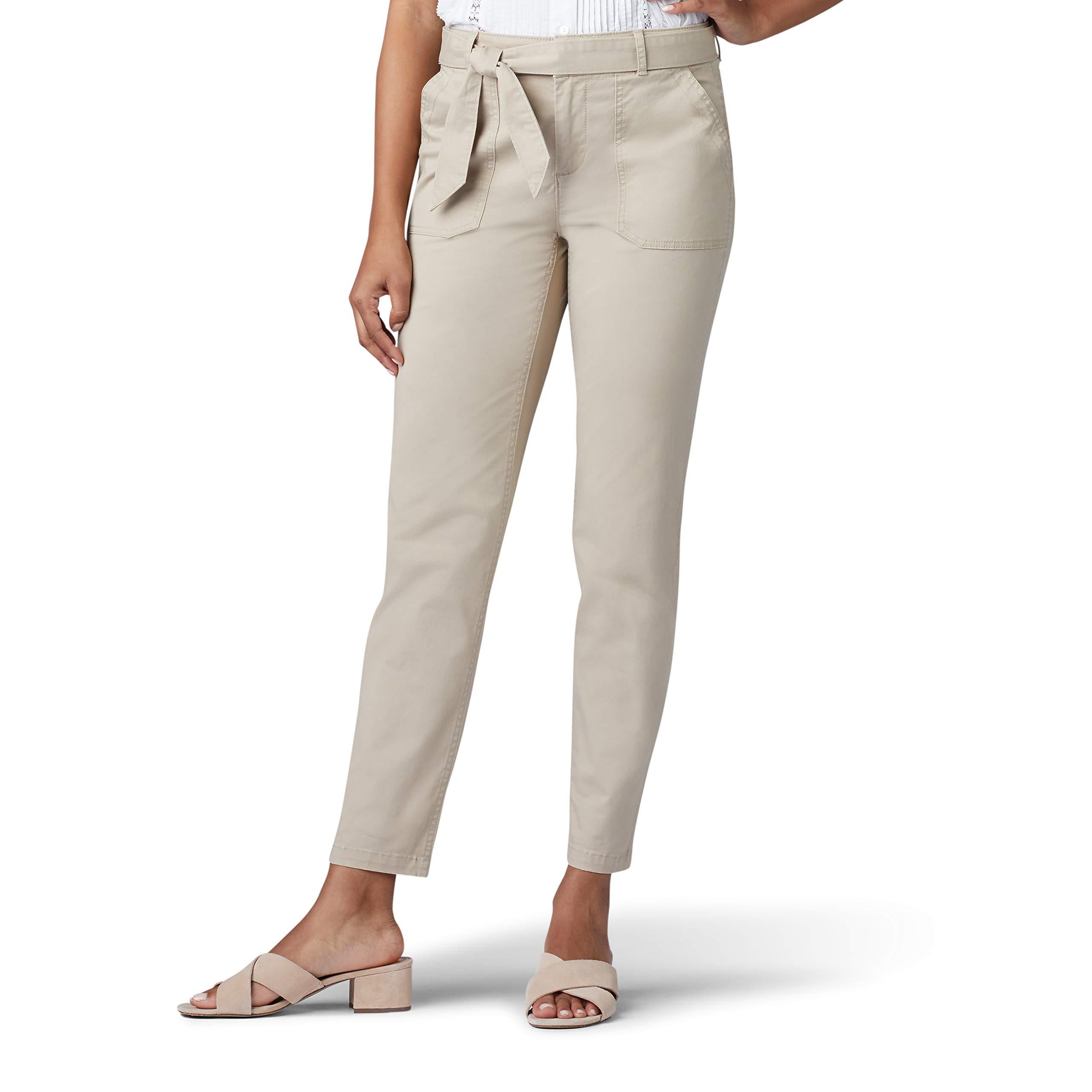 Lee Uniforms Women's Regular Fit Straight Leg Utility Ankle Pant