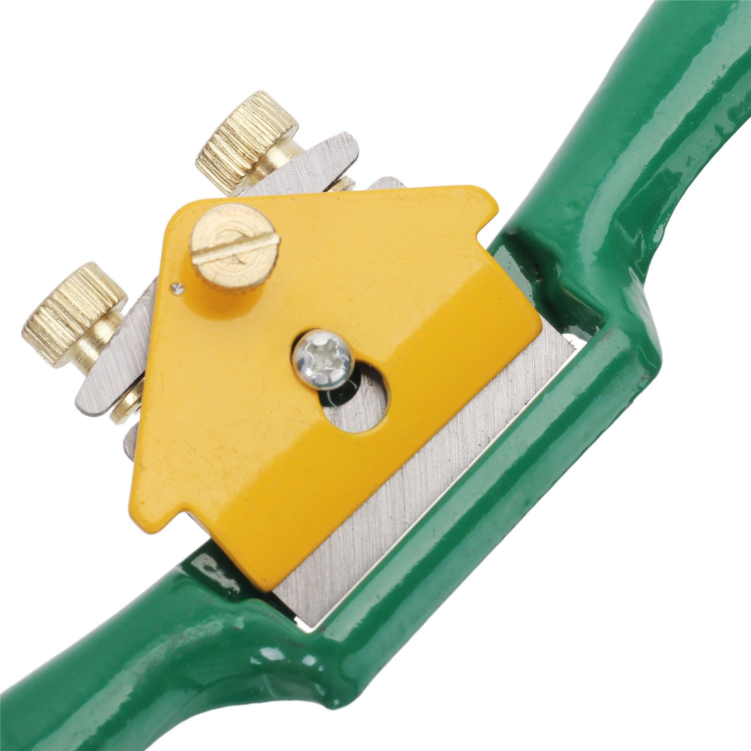 Refaxi 210mm Spoke Shave Manual Plane Planer Woodworking Blade Hand Tools Green by ReFaXi (Image #5)