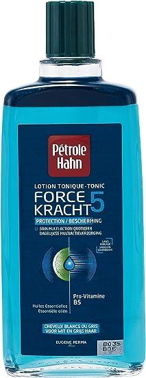 Petrole Hahn – Loción tónica Force 5 Protection para cabello blanco o gris, 300 ml, lote de 2
