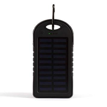 LIVOO Clipsonic TEA139N Batterie de secours solaire 5000 mAh Noir