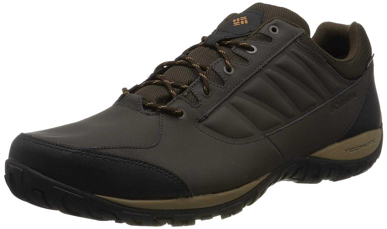 Marron (Cordovan, Canyon or) 42.5 EU Columbia Ruckel Ridge imperméable, Chaussures de Randonnée Basses Homme